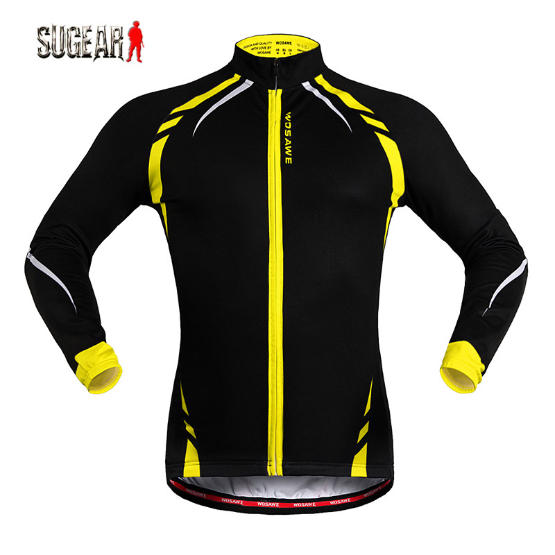 Hot-selling Breathable Long Sleeve Printing Cycling Jersey with Pockets Outdoor MTB Bike Riding Ciclismo Quick Dry Top Shirt <br><br>Aliexpress