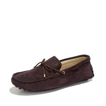 39-46 Plus Size Men Shoes Genuine Leather Shoes Men Moccasins Shoes Flats Gommino Men Loafers Casual Slip On Big Size 10 Colors
