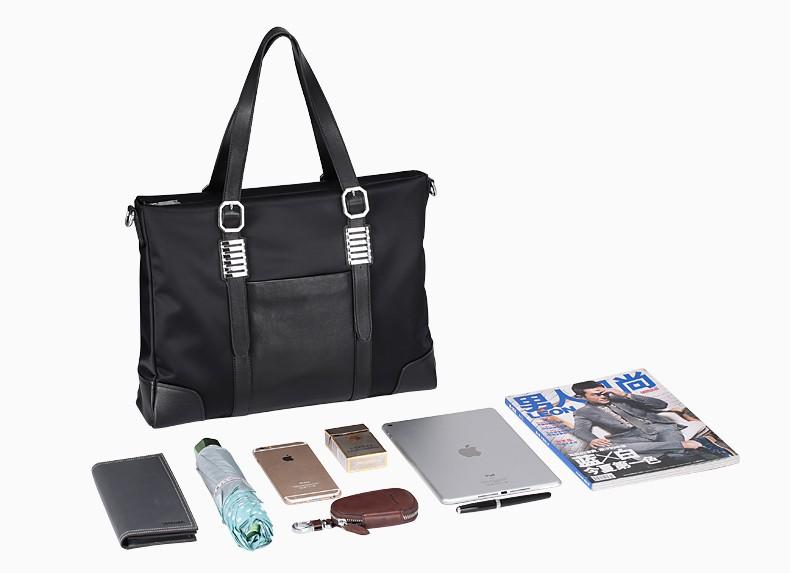 Sammons men nylon briefcase 15