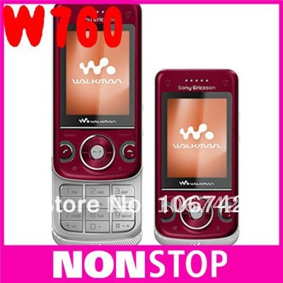 W760i original Sony Ericsson w760 cell phones unlocked brand 3G 3.2MP camera free shipping(China (Mainland))