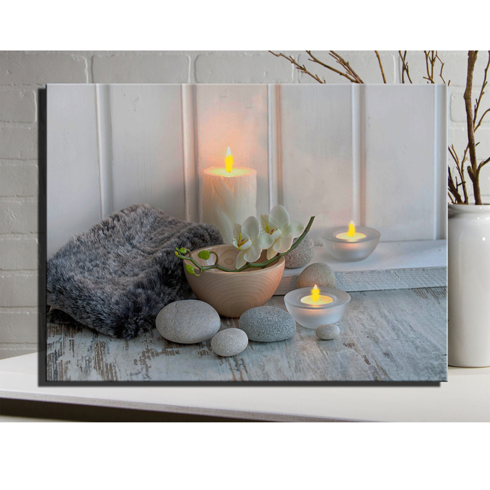 Lighted Canvas Wall Decor : Popular spa frames buy cheap lots from china