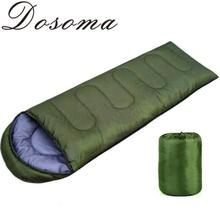 2016 Spring 180*75cm Military Sport Camping Hooded Sleeping Bag Travel Thick Sleeping Bags Camping Equipment