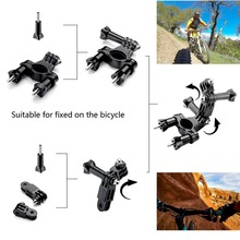 5 in 1 Accessories Bundle Kit for Sony Action Cam Cameras Head Strap Car Sun