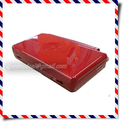 Red Full Shell Housing Case Cover Replacement Set + Hinge Tools for nds lite ndsl Retails Wholesale