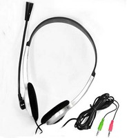 1215 New Gaming Headset Earphone Headphones with Microphone Stereo For Skype earphone