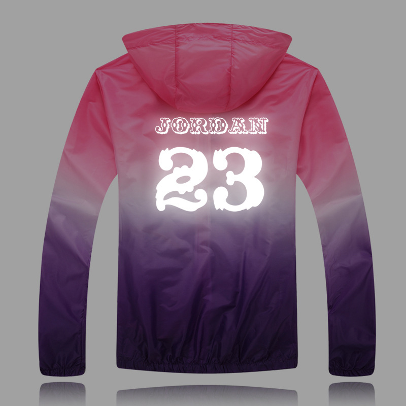 2016 new summer men's jacket 3M reflective summer clothes lovers male and female models loose hooded sun protection clothing(China (Mainland))