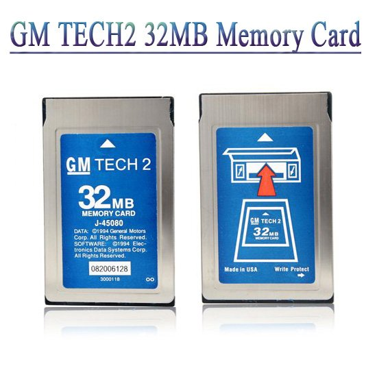 Latest version 32MB card for GM TECH2 Six Software