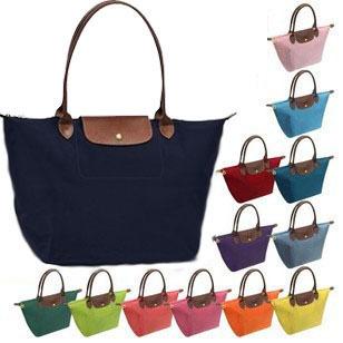 Горячая! Новый женщин оригинальный дизайнер кожаные сумки складной пластиковый верх hobos пластиковые сумочке / нейлоновый мешок