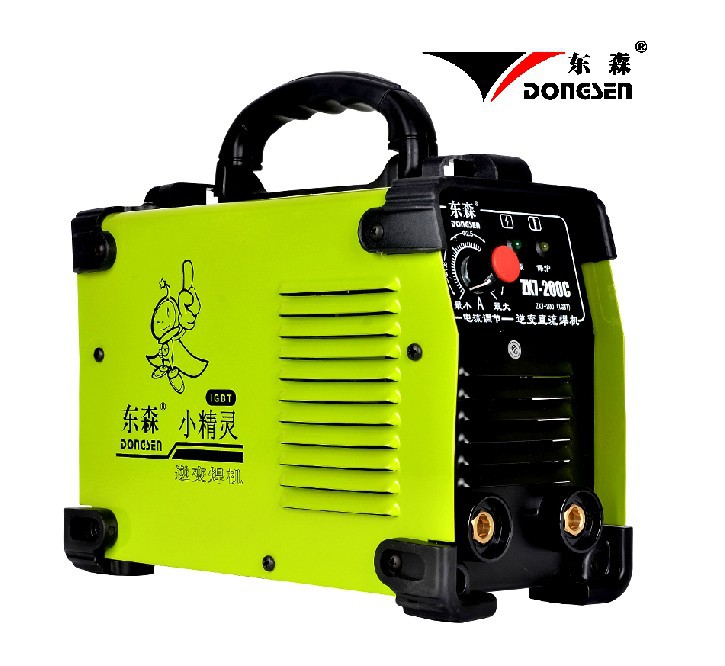 New Popular in China IGBT DC Inverter welding equipment MMA welding machine ZX7-200C with complete accessories,Free shipping(China (Mainland))