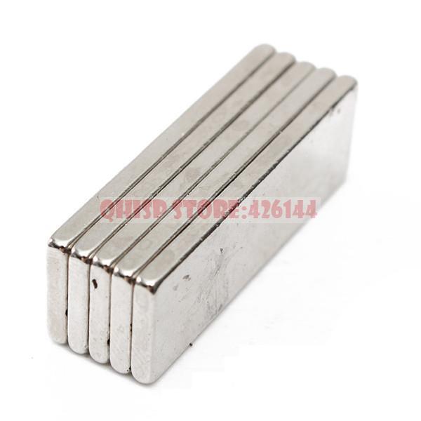 2015 New Aimant Neodymium Magnets 50 Pcs/lot _ Super Strong Cuboid Block Magnet Rare Earth N35