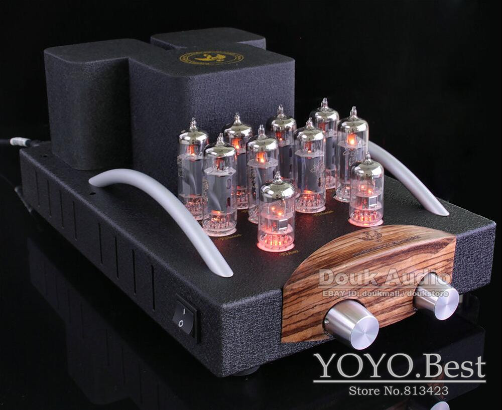 Music Angel 6P1 Valve Vacuum Tube Integrated Amplifier HiFi Class A Push-pull Amp Finished Product 110~240V(China (Mainland))