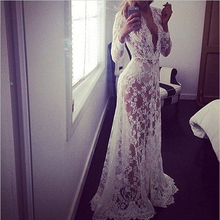 Pregnant Women Lace Embroidery Transperant Beach Maxi Dress Maternity Long Dresses Pregnant Photography Props Pregnancy Vestidos