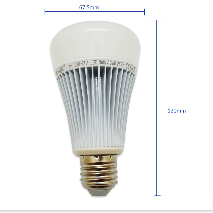 RGBWW 8W LED BULB14
