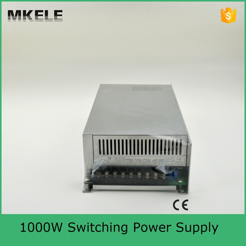 Фотография S-1000-12 80A direct sale high power small size dc 12v power supply 12v 1000w AC to DC with ce certification