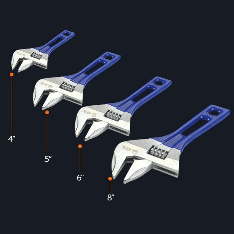 "1Piece 6"" Adjustable Spanner Mini Wrench Universal Nut Key Hand Tools Multitool(China (Mainland))"