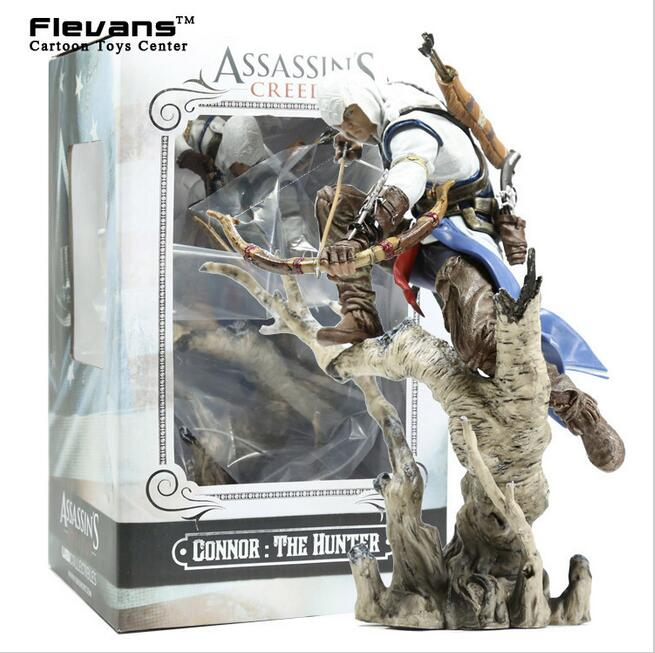 Assassins Creed 3 Connor PVC Action Figure Collectible Model Toy 26cm MVFG318<br><br>Aliexpress