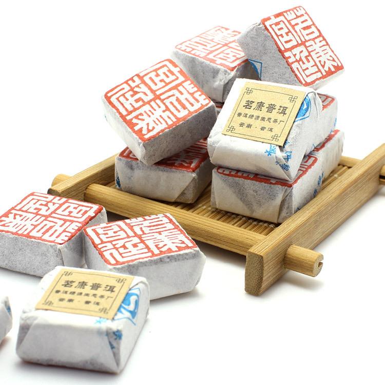 Premium Puerh Tea Puer Pu'er Taetea 500g 80-10Brick Loose Ripe Health Care Royal Chinese Ceremony Gift Energizing