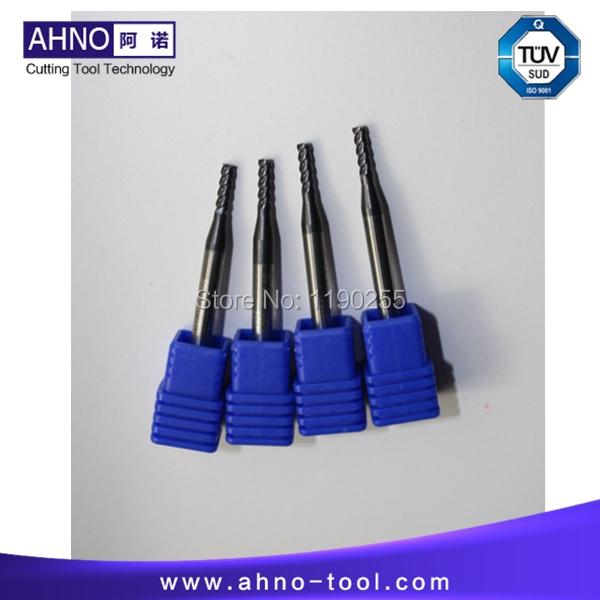 10pcs/lot D2.0mmx6mmx50mm 4 Flutes shell end mill cutter Free shipping(China (Mainland))