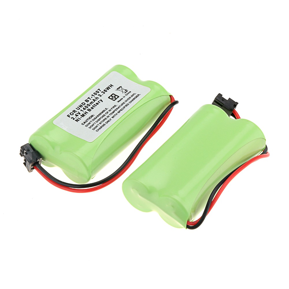 2016 new 2 PCS 2.4V 1400mAh Cordless Phone Battery For Uniden BT-1007 BT1007 BT1015(China (Mainland))