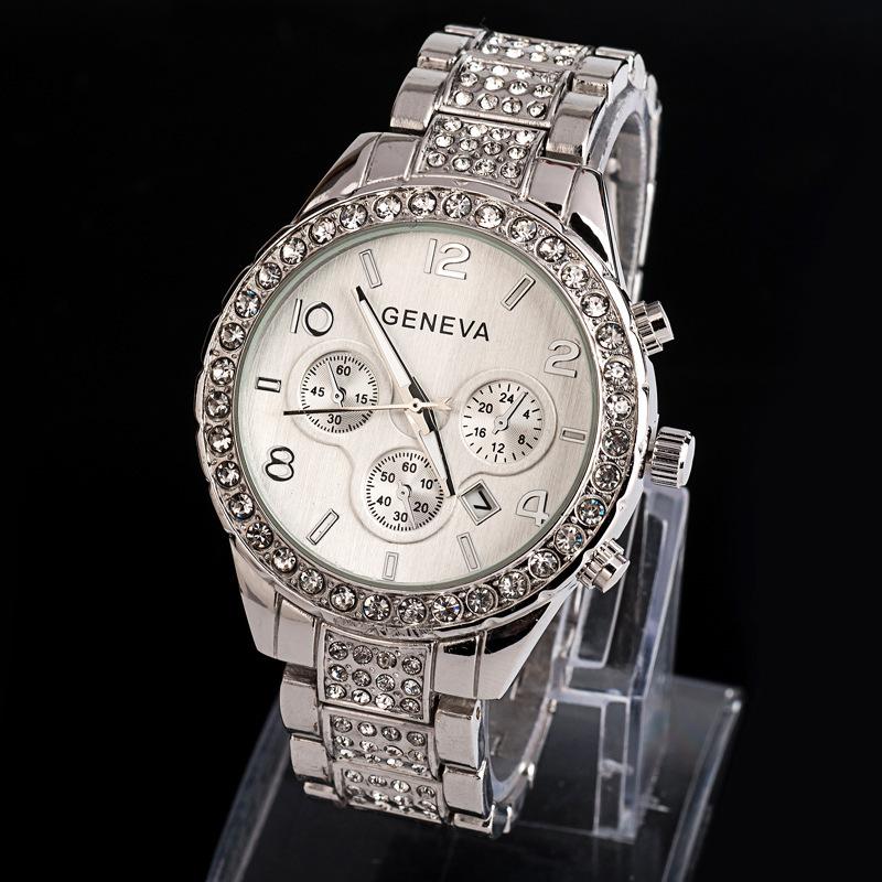 Geneva Women Rhinestone Watches Ladies Fashion Watch Luxury Diamond Women Dress Quartz Watches Relogios Femininos AQ721<br><br>Aliexpress