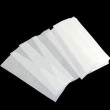New 100pcs/set Hair Removal Remove Depilatory Wax Strip Nonwoven Epilator Paper Waxing(China (Mainland))