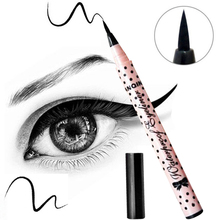 1 Pcs Black Long Lasting Eye Liner Pencil Waterproof Eyeliner Smudge-Proof Cosmetic Beauty Makeup Liquid Eyeliner Pen 1491782
