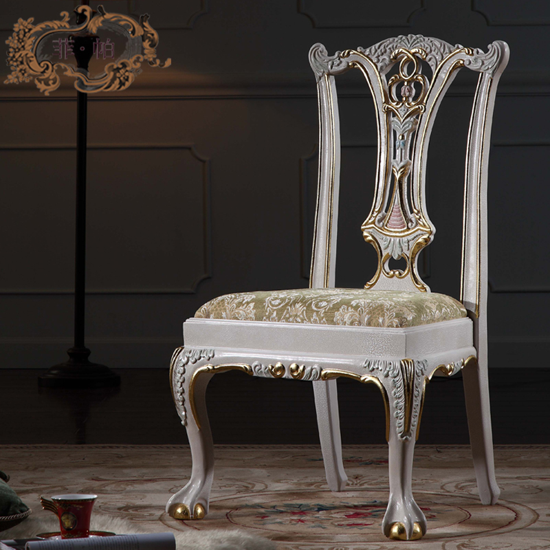 european antique furniture - baroque solid wood handcraft chair  Free shipping<br><br>Aliexpress