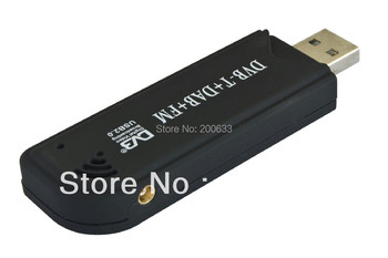 Hot selling Free Shipping  DVB-T USB TV Tuner/Stick R820T 2832U chipset Support SDR Software Defined Radio FM