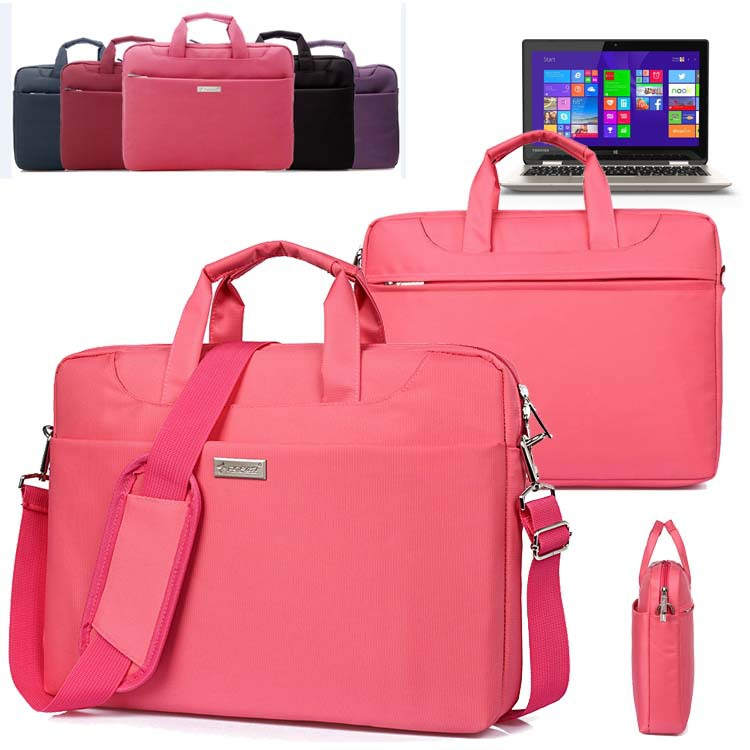 "Waterproof Ladies Laptop Shoulder Bag Carry Case Briefcase for Toshiba 15.6"" Satellite C55-C5240/ C55/ C55D L55 15.6 Inch Laptop(China (Mainland))"