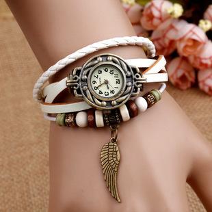 Euro Fashion Retro Pu Leather Bracelet Wristband W...