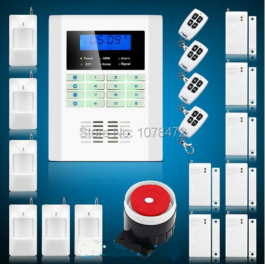 Free shipping,99 wireless zones t SMS GSM850/900/1800/1900Mhz burglar alarm panel, home security PSTN GSM alarm system<br><br>Aliexpress