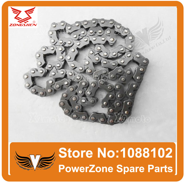 ZONGSHEN 250cc  Engine  Time Timing SS Chain 3*4 104 Links Fit To Most Motorcycle Dirtbike ATV Quad Parts Free Shipping