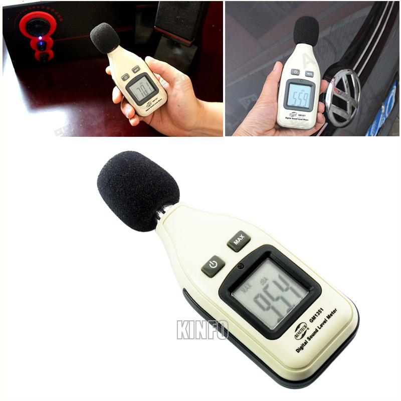 Mini Noise Audio Monitor Level Digital Instrument Sound Level Meter Tester 30~130dB LCD Display Decibel Logger DNM51-R30<br><br>Aliexpress