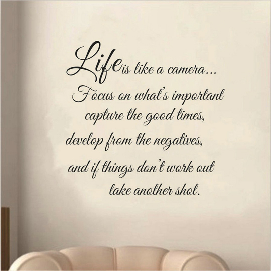 2015 New Life Inspirational Wall Decals Quotes Creative Home on Life Quotes Home 2015
