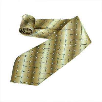 2013 Father's Gifts,Light Brown Squares Stripe Silk Classic Woven Man Tie Necktie . - Shen Zhen E-Price technology Co.,Ltd store