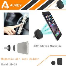 AUKEY 360องศาสากลรถผู้ถือแม่เหล็กระบายอากาศเมามาร์ทโฟนD Ockผู้ถือโทรศัพท์มือถือ,ผู้ถือโทรศัพท์มือถือยืน
