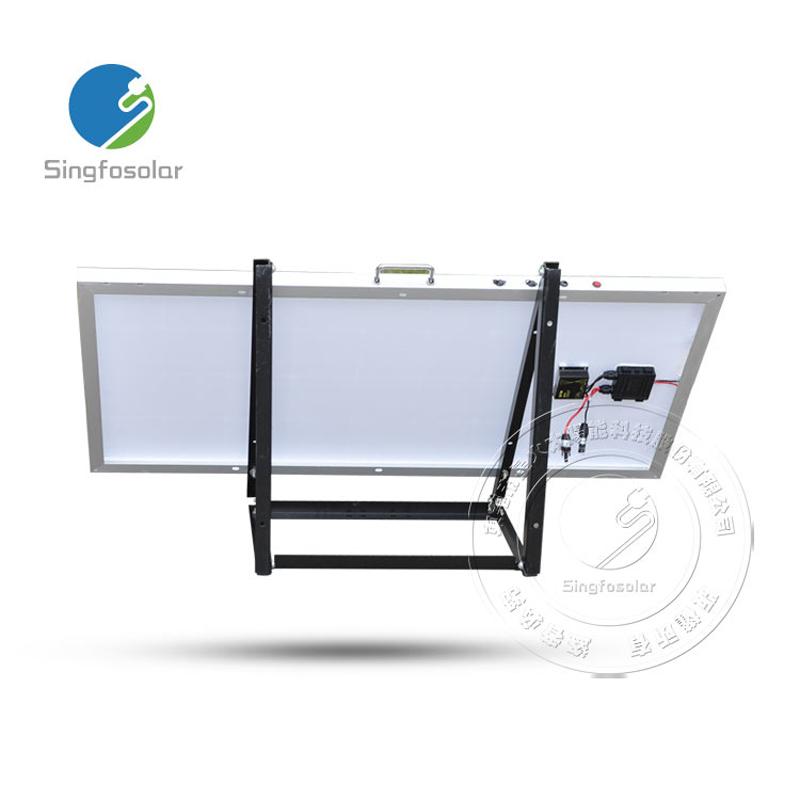 2016 New Factory Price Portable 100W Solar Panel System 12V 18V Mini Home Solar Energy System For Phone USB 5v Lighting LED   <br><br>Aliexpress