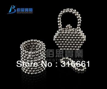 100% Satisfaction Free Shipping 216pcs 3mm Neocube Balls Magnetic Neodymium Cube Magnet Balls
