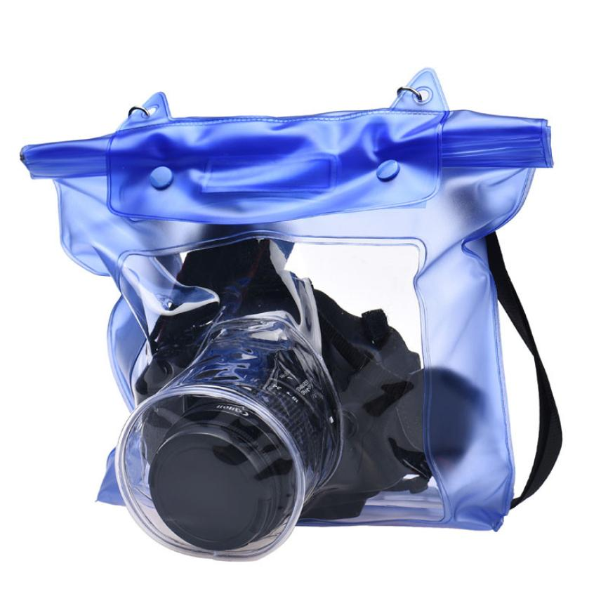 Top Quality Waterproof Digital Camera DSLR Case Underwater Pouch Bag For Canon Sony Fujifilm Olympus FE26(China (Mainland))