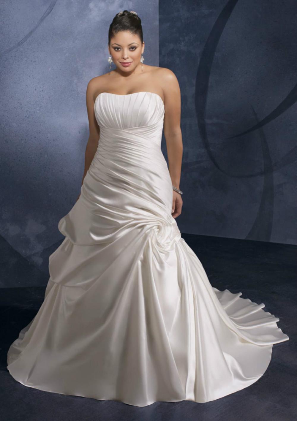 Brautkleider für die Vollschlank