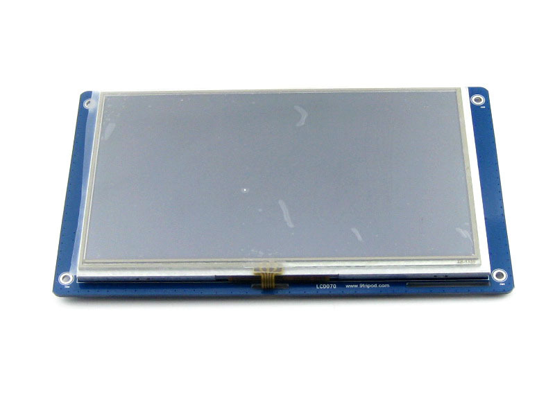 LCD module 7inch Resistive Touch LCD 800*480 Multicolor Graphic LCD, TFT TTL screen LCM<br><br>Aliexpress