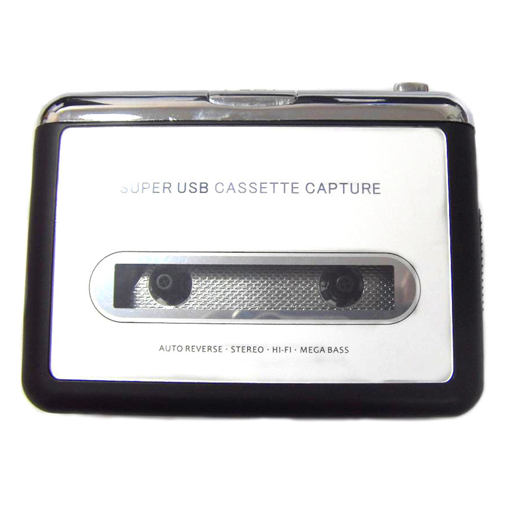 Super USB Cassette to MP3 Converter Capture USB Mini Radio cassette player Capture Audio Music Player Tape to PC Computer Laptop(China (Mainland))