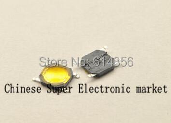100pcs Tact Switch SMT SMD Tactile membrane switch PUSH Button SPST-NO 4mmx4mmx0.8mm(China (Mainland))