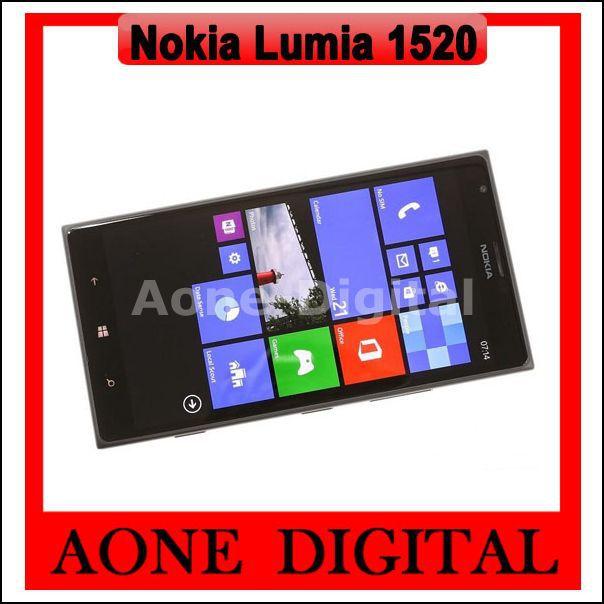 Original Refurbished Nokia Lumia 1520 2GB RAM 32GB ROM WIFI Microsoft Windows Mobile Phone(China (Mainland))