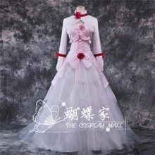 Buy Hot Anime CODE GEASS Euphemia li Britannia Cosplay Costume White Pinck Dress Coat S-XL NEW for $95.88 in AliExpress store