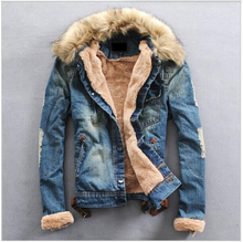 men jacket winter,Men's Stretchable Stone Washed Casual Denim Jacket,Brand Fashion high Quality Jeans Coat,free shipping,T3291