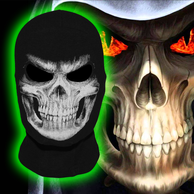 The Grim Reaper Mask Skull Ghost Death Balaclava Airsoft Costume Headwear Scary Motorcycle Paintball Halloween Full Face Mask(China (Mainland))