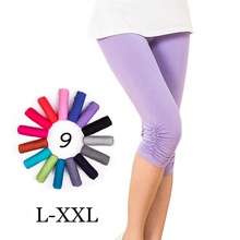 Women's fitness Modal Cotton leggings sexy girl leggins plus size elastic gothic women leggings candy colors sport legging(China (Mainland))