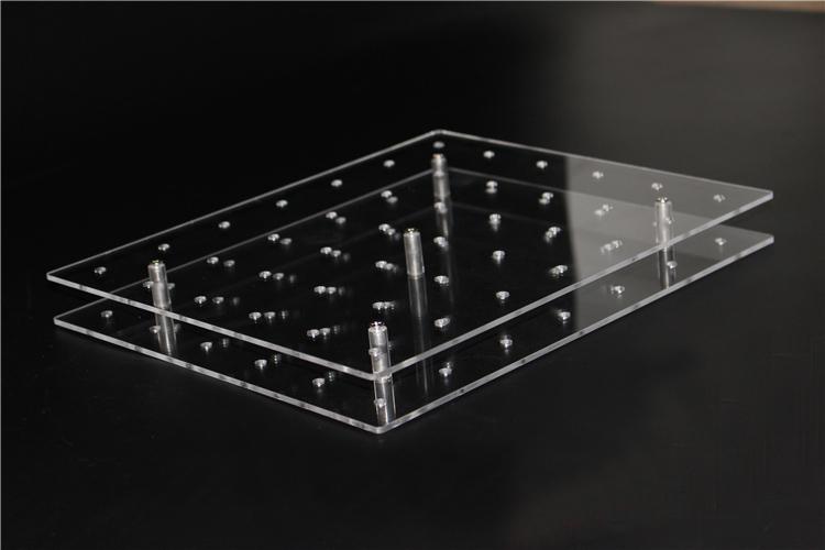 1 Set Rectangular 42 Holes Lollipop Holder Cake Pop Display Stand Acrylic Board Holder Base Shelf(China (Mainland))