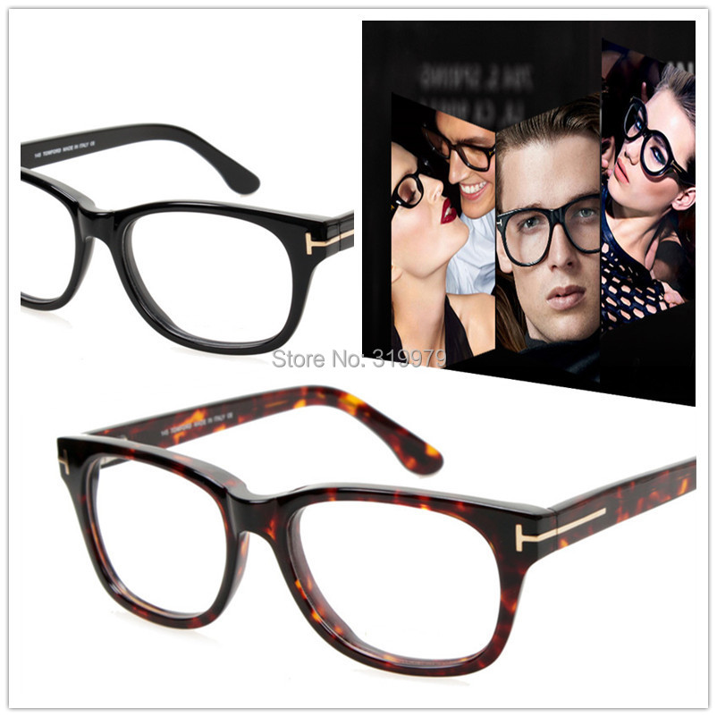 2015 Fashion Tom Eyeglasses Men Optical Frame Reading Glasses Frame Women Hand Made Acetate
